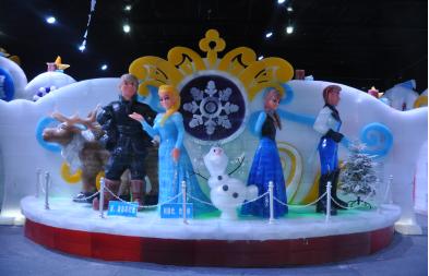 这个春节一定要来重庆园博园赏冰雕