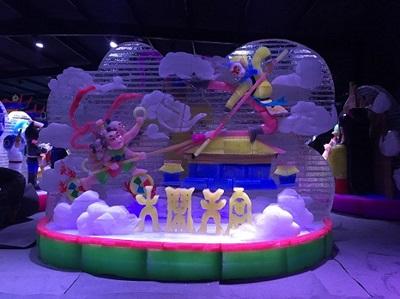 南京市雨发冰雕馆承建