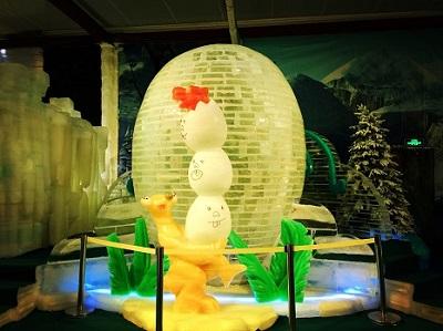 无锡市梅园冰雕馆承建