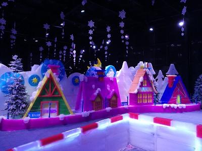 昆明世博园冰雕馆承建